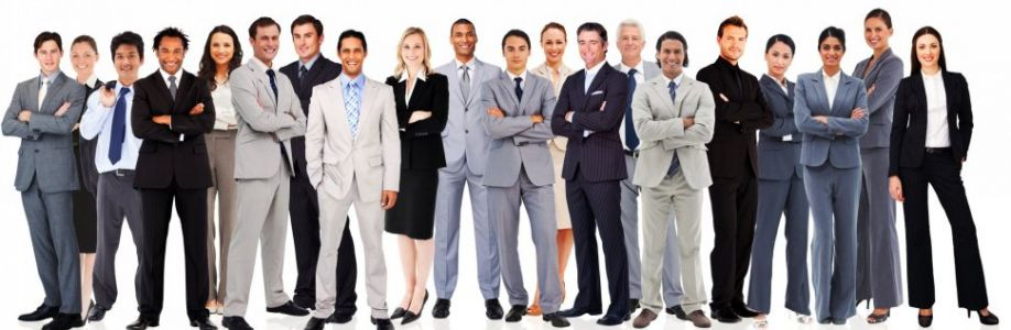 Business men and women group Cover Image
