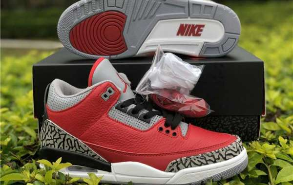 "2020 Air Jordan 3 Retro SE ""Red Cement"" CK5692-600 For Discount Online"