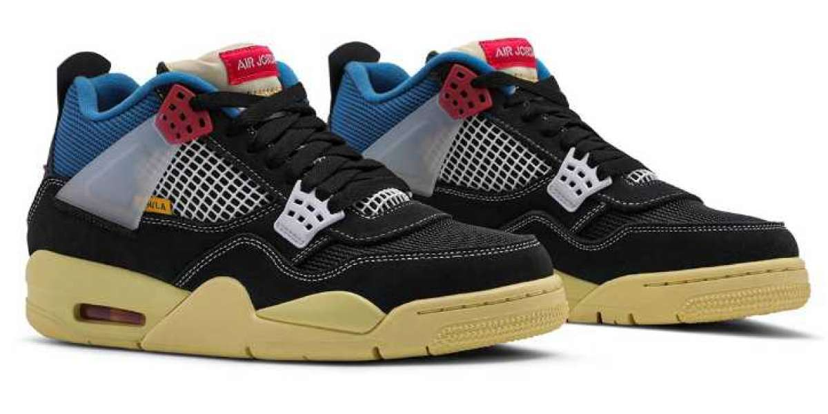 Union x Air Jordan 4 Release Two New Colorway on August 15, 2020