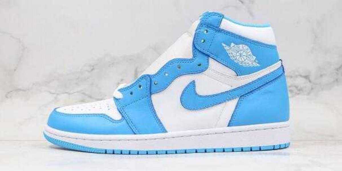2020 Air Jordan 1 Retro High OG UNC North Carolina Blue