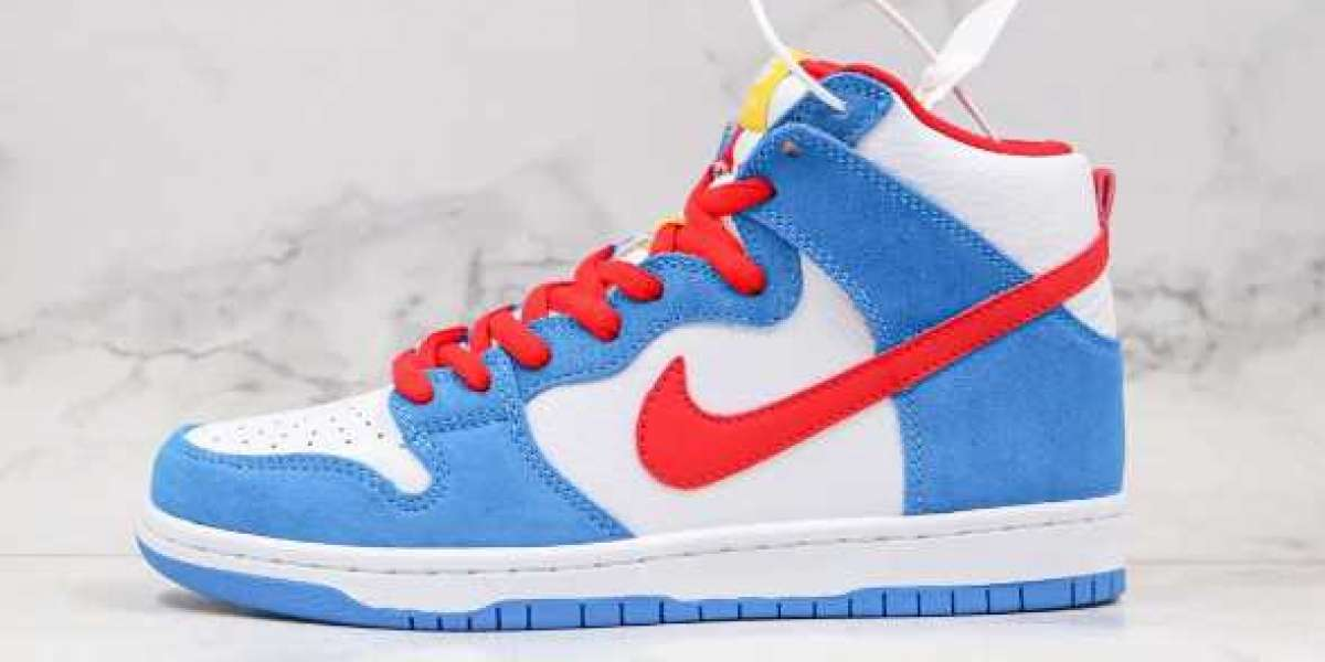 Buy Promotion Nike SB Dunk High Doraemon blue