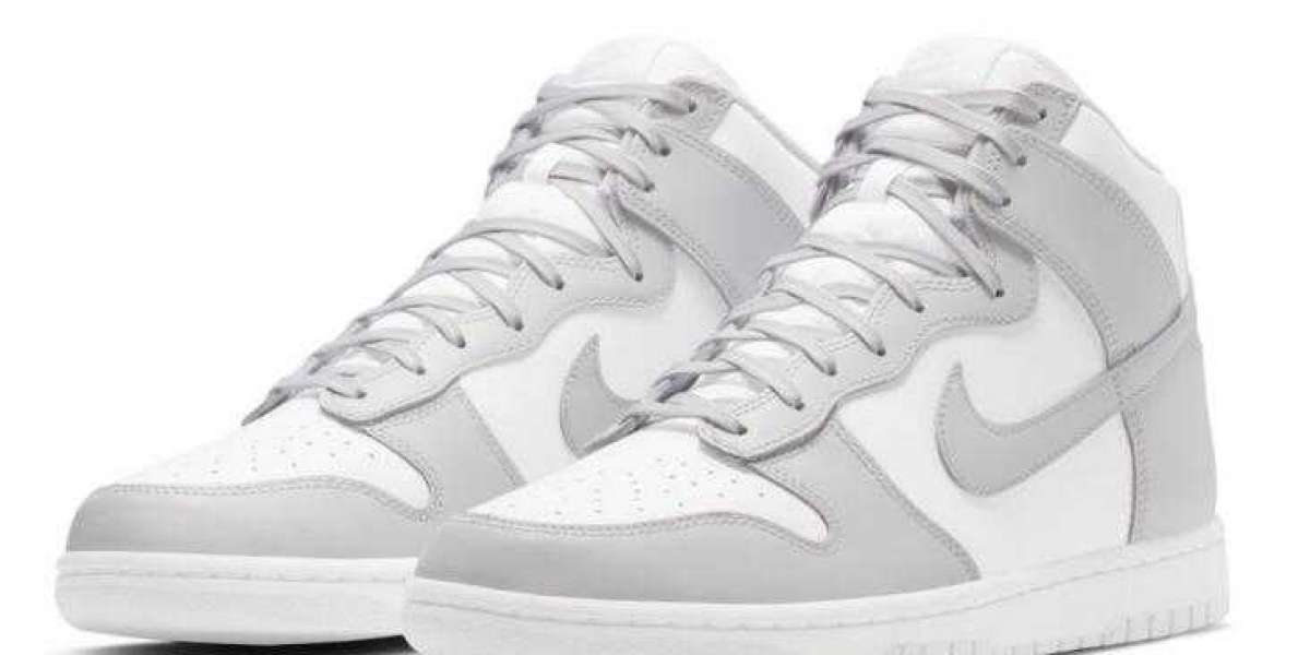 Purchase the New Nike Dunk high Vast Gray on January 14, 2021