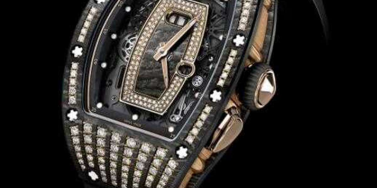RICHARD MILLE Bonbon Replica Watch RM 07-03 Cupcake