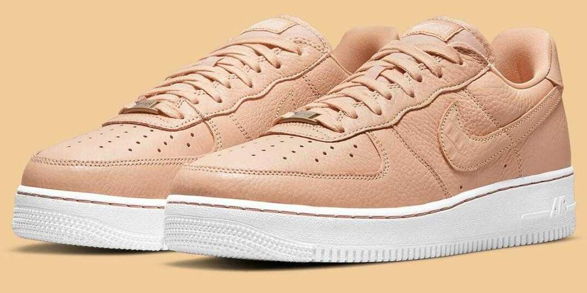 New Nike Air Force 1 Craft Get Lux Touches With Vachetta Tan Leathers