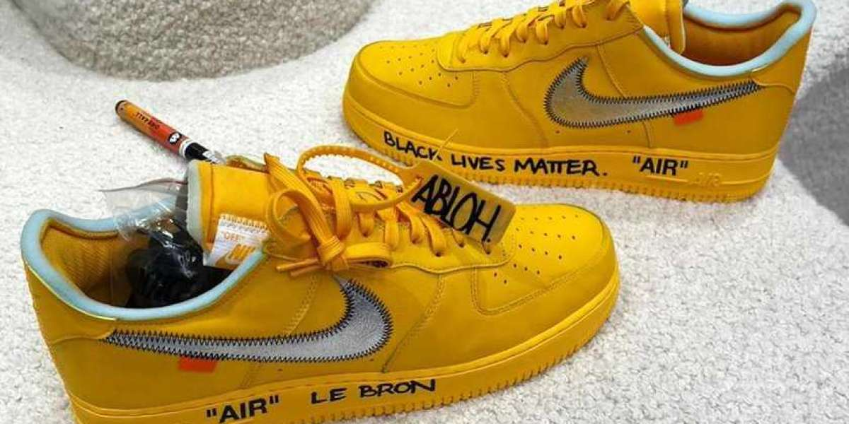 """Where To Buy Off-White x Nike Air Force 1 Low """"University Gold"""" ?"""