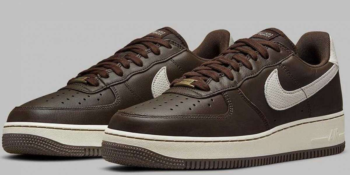 New Air Force 1 Craft Releasing With Dark Chocolate Leather